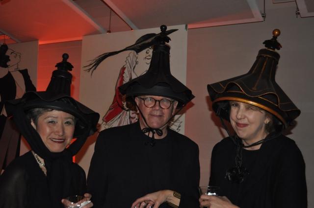 Handmade Lamp Shade Costumes at NYDC Masquerade Ball 2010