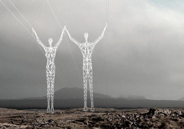 Human Pylon