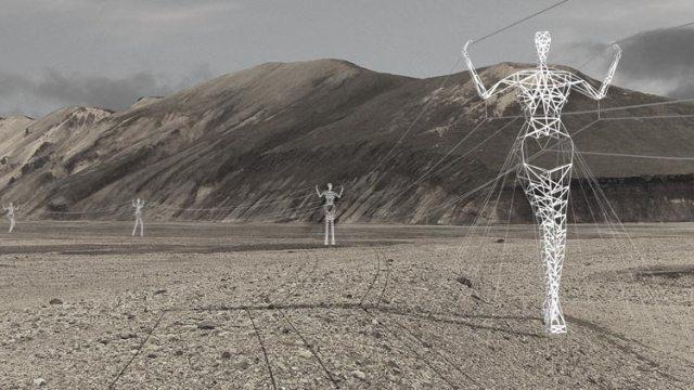 People Pylons Kjour Highlands Concept