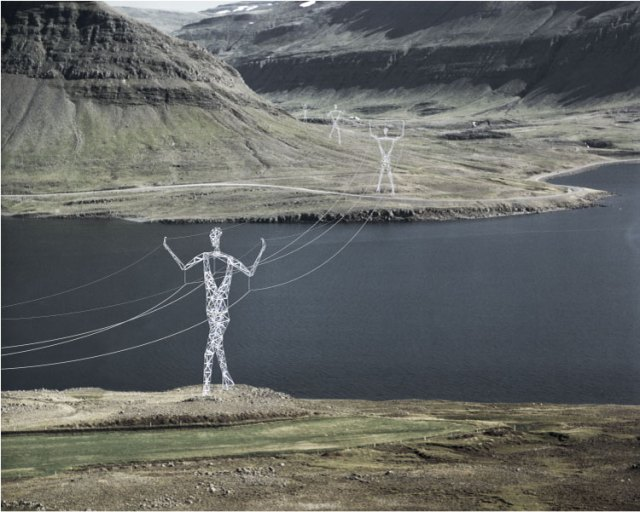 Land of Giants transmission towers design by Choi+Shine