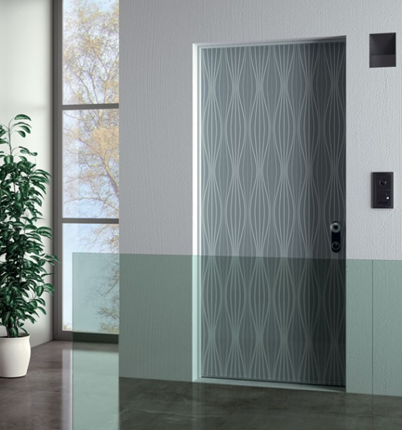 Corporate Front Office Door Design Seagreen 582 622 Art