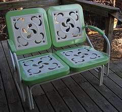 Retro Patio Furniture Metal