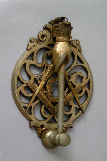 The Mystique Of Detail Vintage Masonic Door Hardware Art