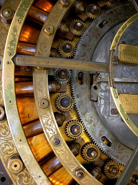 Locked Away In Patina Vintage Bank Vaults Art