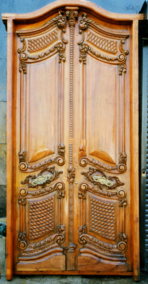 Carved Beauties…Salvaged Vintage Entry Doors – Art & Architectural ...
