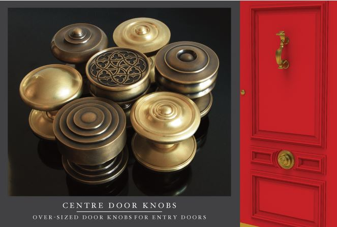 SA Baxter Centre/Center Door Knobs