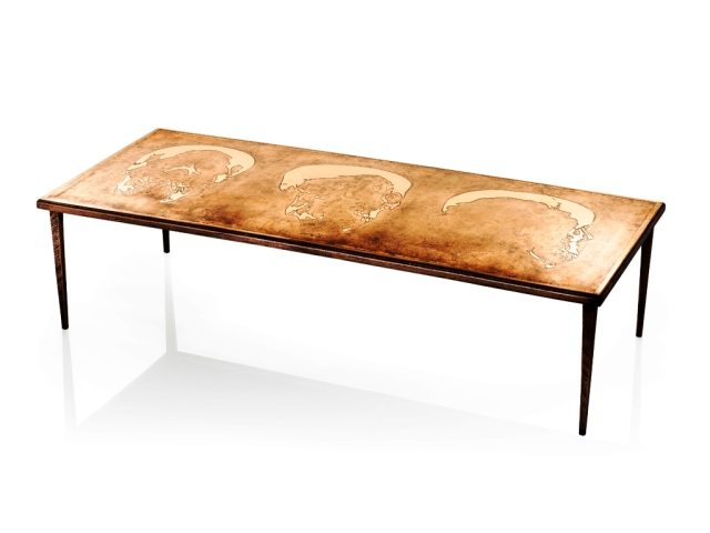 Nick Davis Foundry Etched Bronze Table 2