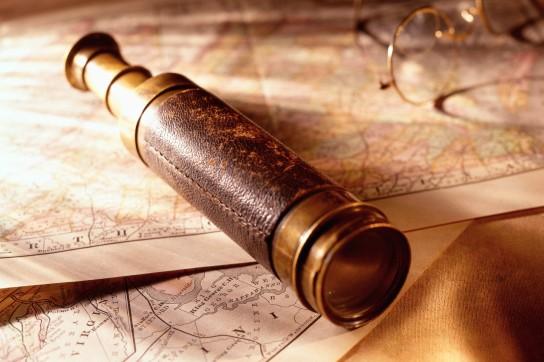 Telescope on Map