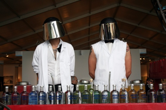 artMRKT ABSOLUT Bartenders